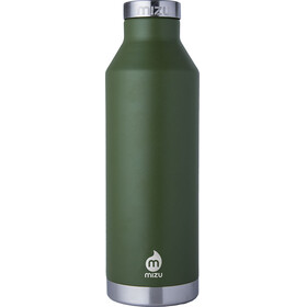 MIZU V8 juomapullo with Stainless Steel Cap 800ml , vihreä